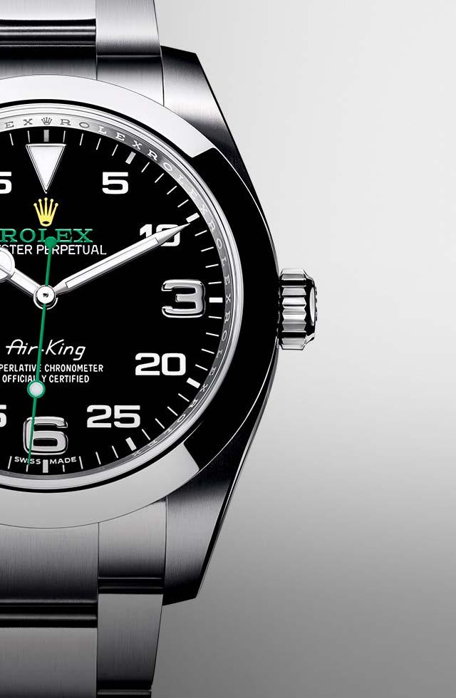 Rolex Air King wristwatch March 2020