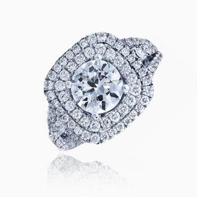 Frederic Sage 1.25 Carat Diamond Engagement Ring