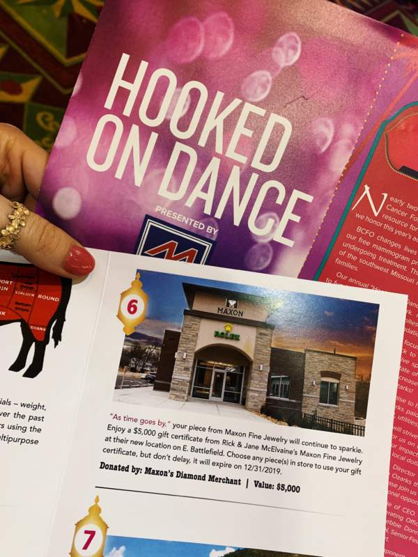 Hooked on Dance Sponsorship