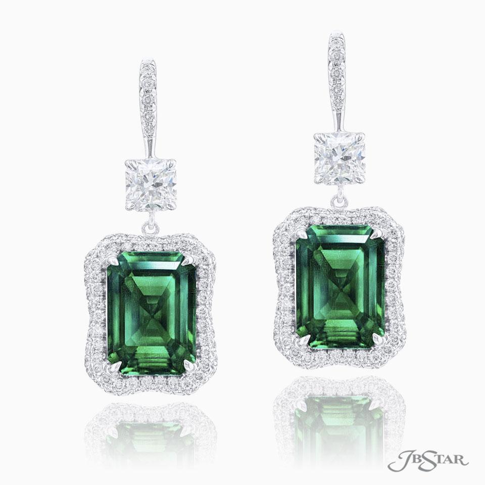 JB Star Emerald Earrings