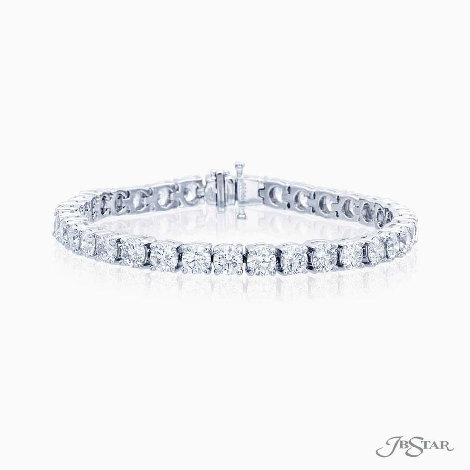 JB Star Round Diamond Bracelet