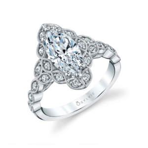 Marquise-Flower-Engagement-Ring