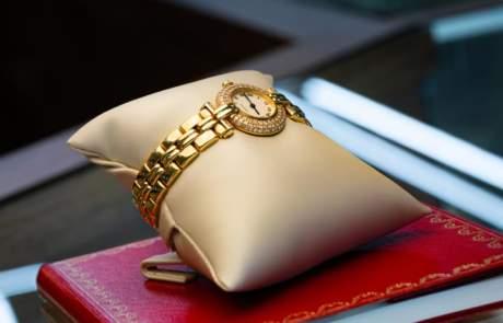 Maxon Estate Jewelry Gold Watch