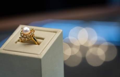 Maxon Estate Jewelry Pearl Ring