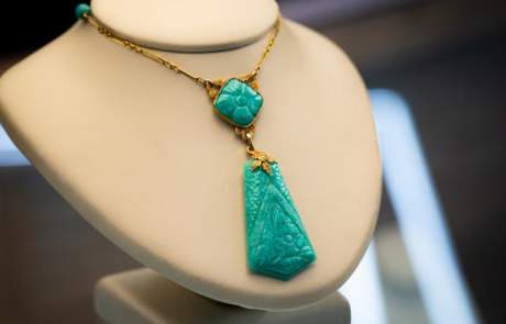 Maxon Estate Jewelry Turquoise Necklace