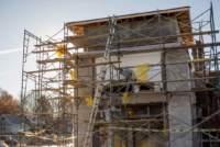 Building progress at 2850 E. Battlefield Road.