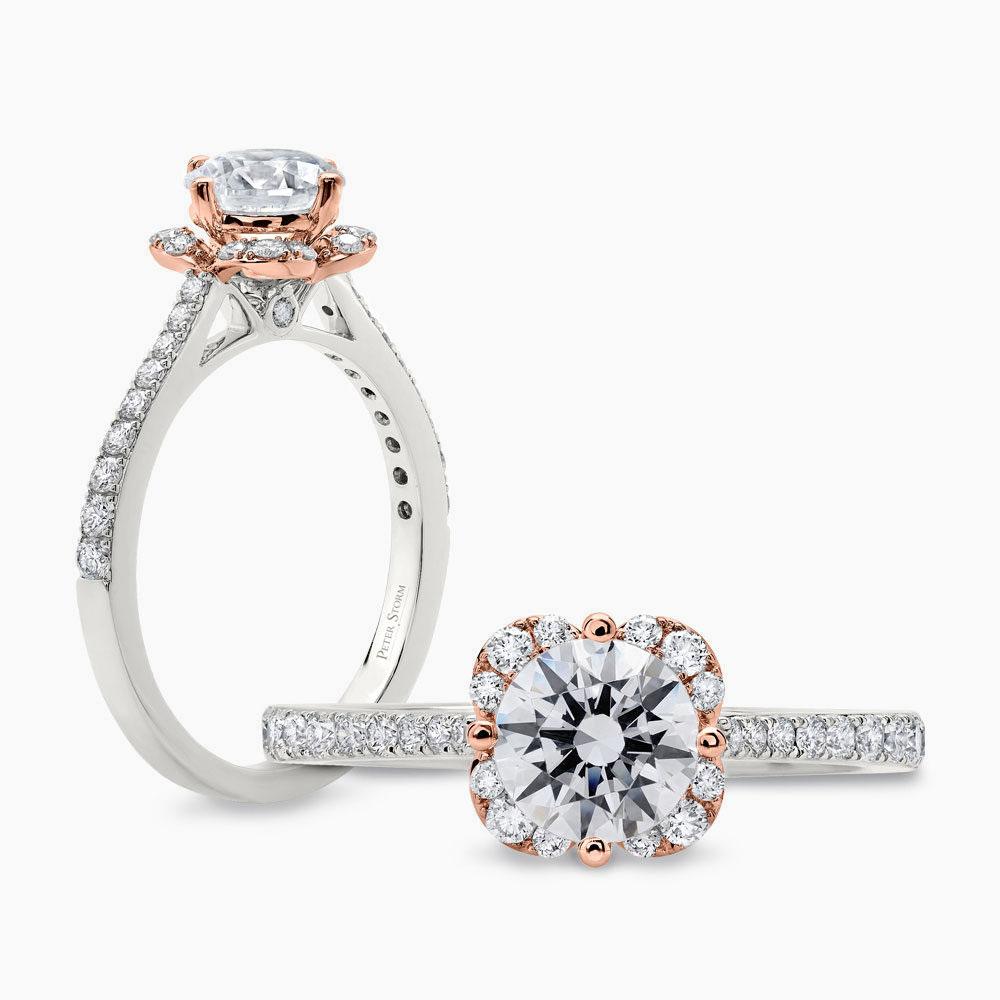 Peter Storm Diamond Rose Ring