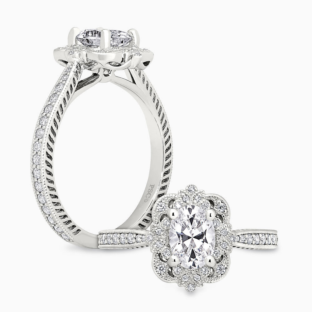 Peter Storm Vintage Modern Engagement Ring