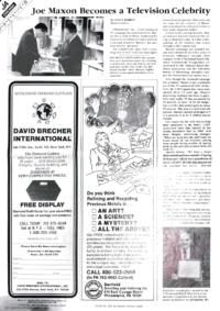 Article featuring Joe Maxon