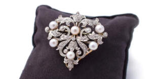 Diamond-Pearl-Broach